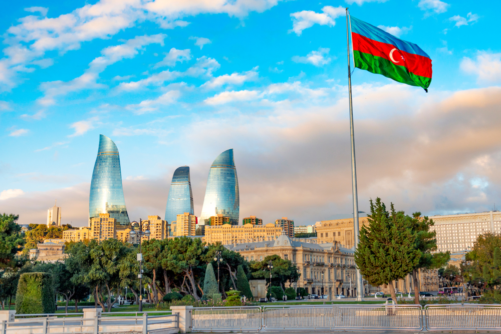 ساحة العلم اذربيجان