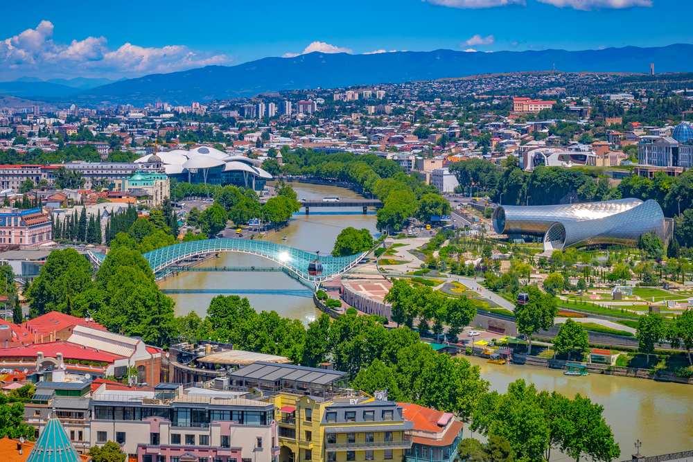 مدينة تبليسي عاصمة جورجيا