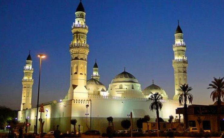 مسجد مدينة قوبا