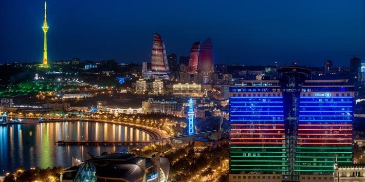 باكو عاصمة أذربيحان