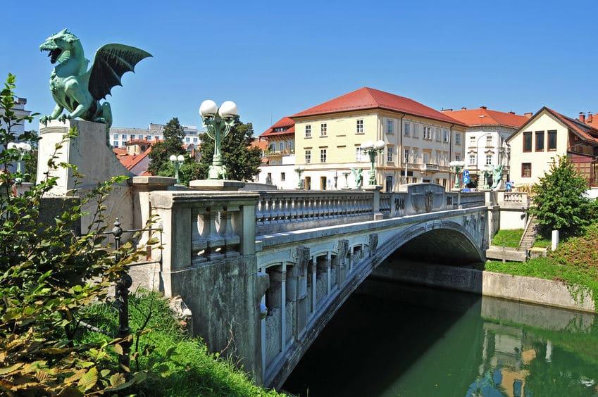 جسر التنين سلوفينيا