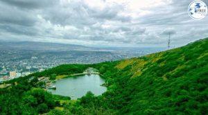 بحيرة السلاحف وحديقة تتسمندا في تبليسي