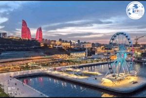 عاصمة اذربيجان باكو