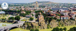 كم ساعه بين اذربيجان وجورجيا
