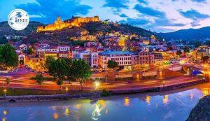 مدن قريبه من تبليسي