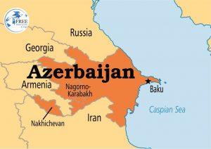 أين تقع أذربيجان على الخريطة